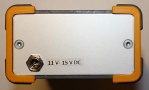 Rückseite Kalibrator