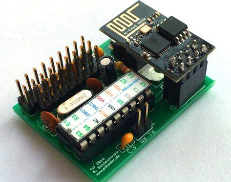 ESP8266-01 Sketch für den PiKoder/SSC wRX