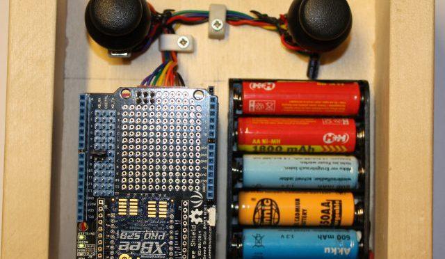 Modellfernsteuerung mit Arduino über XBee