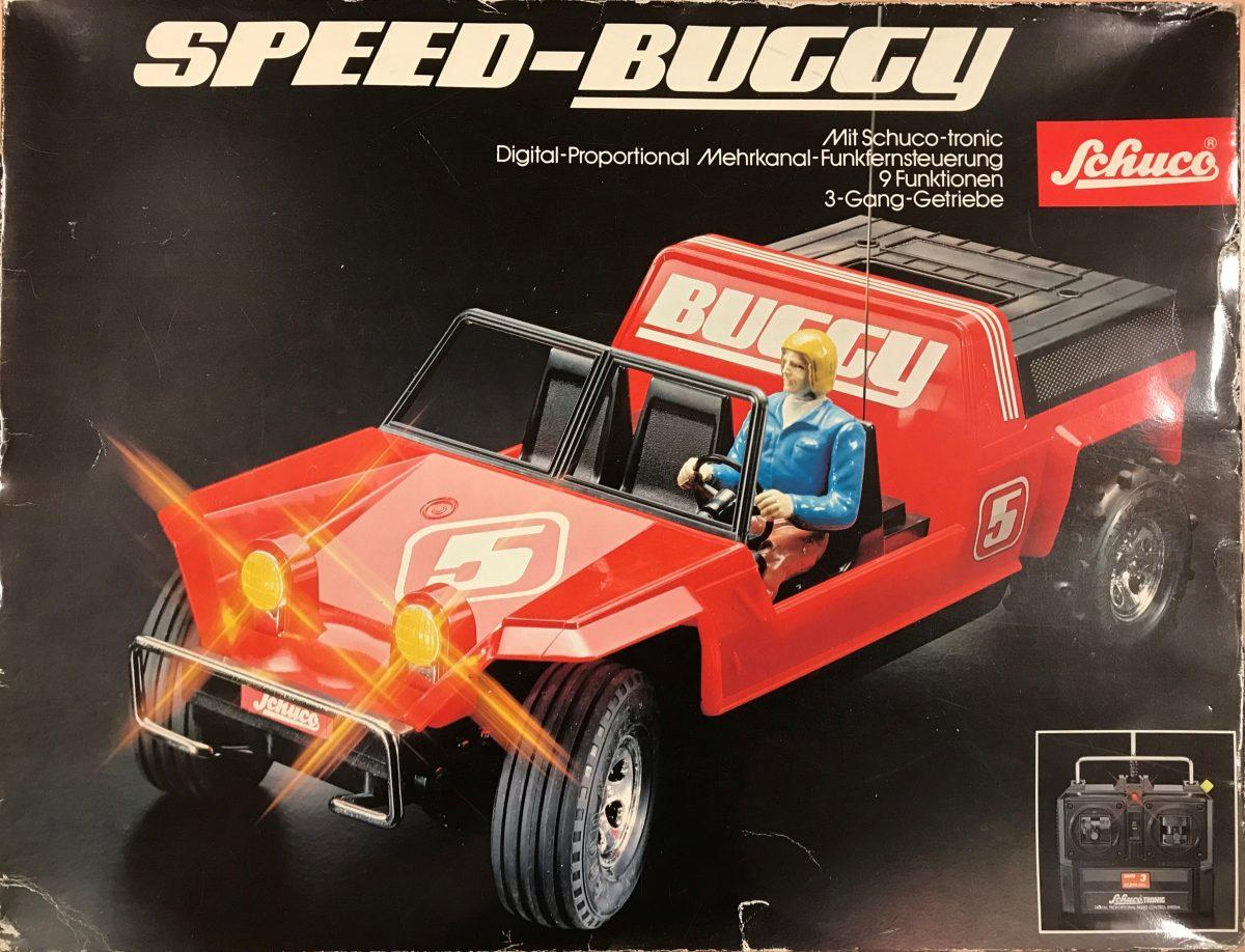 Schuco Speed-Buggy mit Smartphone fernsteuern