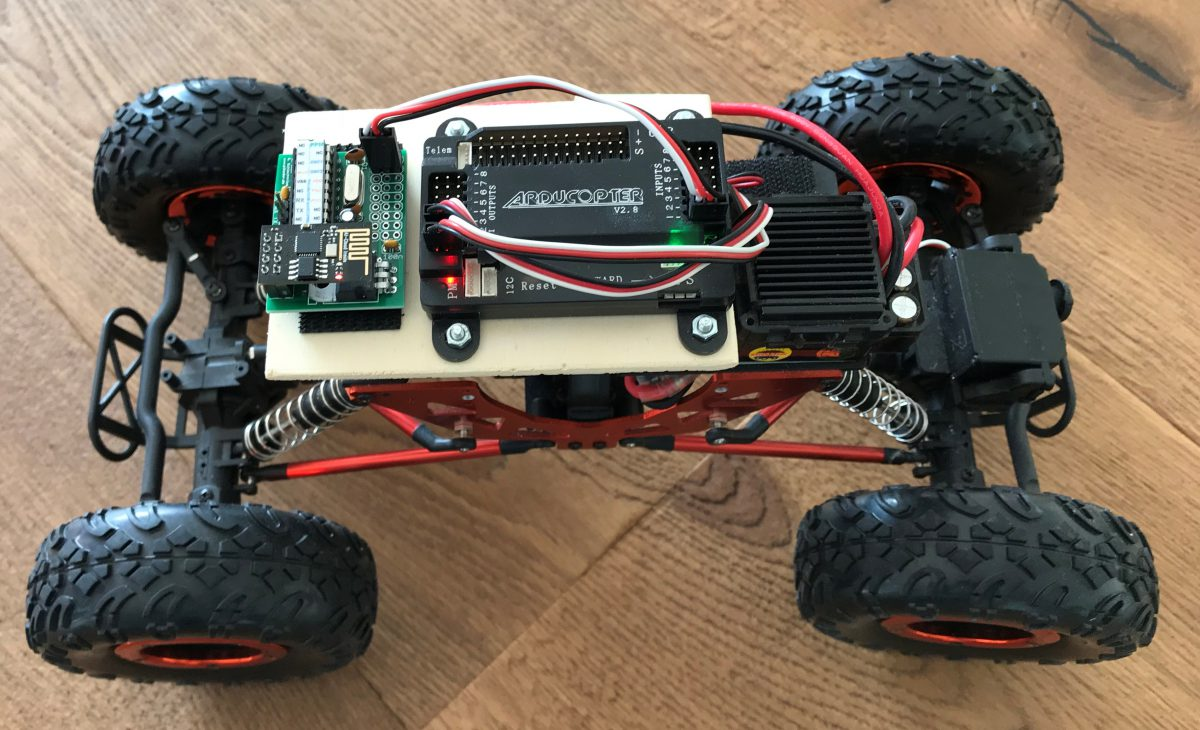 Control your Ardupilot Mega Rover with your Android Smartphone (III)